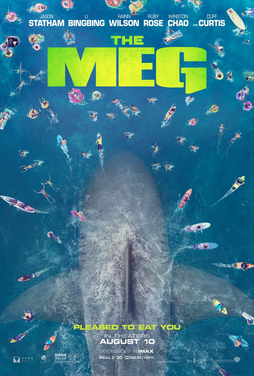 Pleased to eat you. #TheMeg is now playing at @imaxindy! ow.ly/dtXr30l8APS #Indy