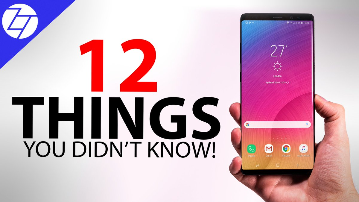 NEW VIDEO:  Samsung Galaxy Note 9 - 12 Things You Didn&#39;t Know!  https:// youtu.be/u4CR6kBhdOs  &nbsp;    #GalaxyNote9 #Note9 #Unpacked2018 <br>http://pic.twitter.com/8YVXesv28Q