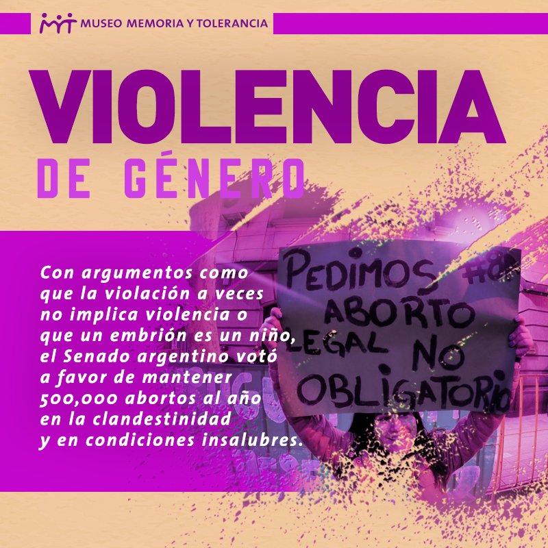 Memoria y Tolerancia's photo on #AbortoLegalYa