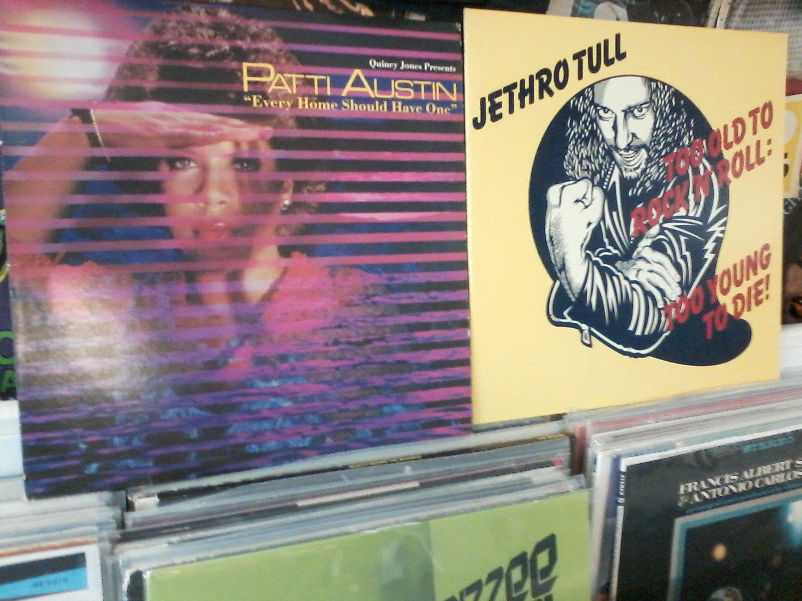 Happy Birthday to Patti Austin & Ian Anderson of Jethro Tull