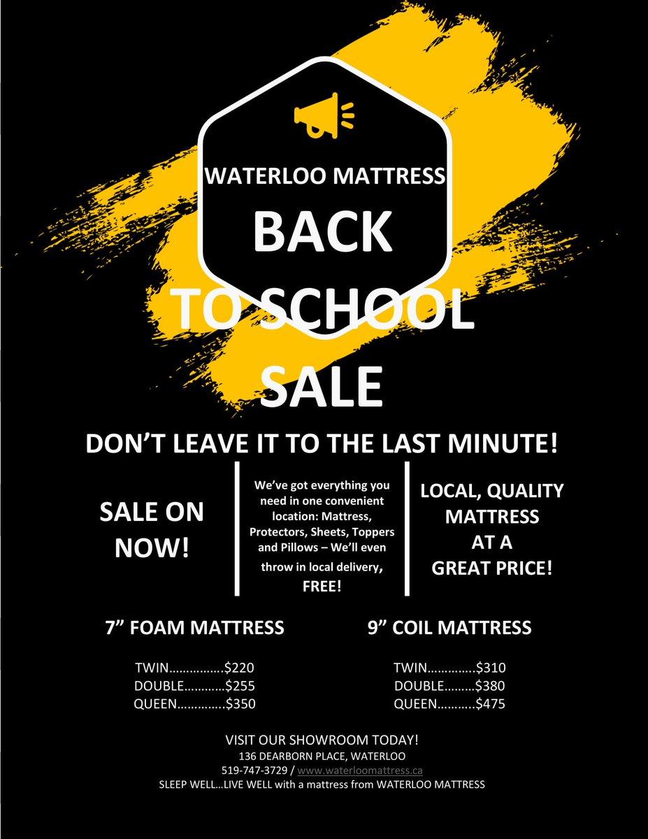 Waterloo Mattress Stores