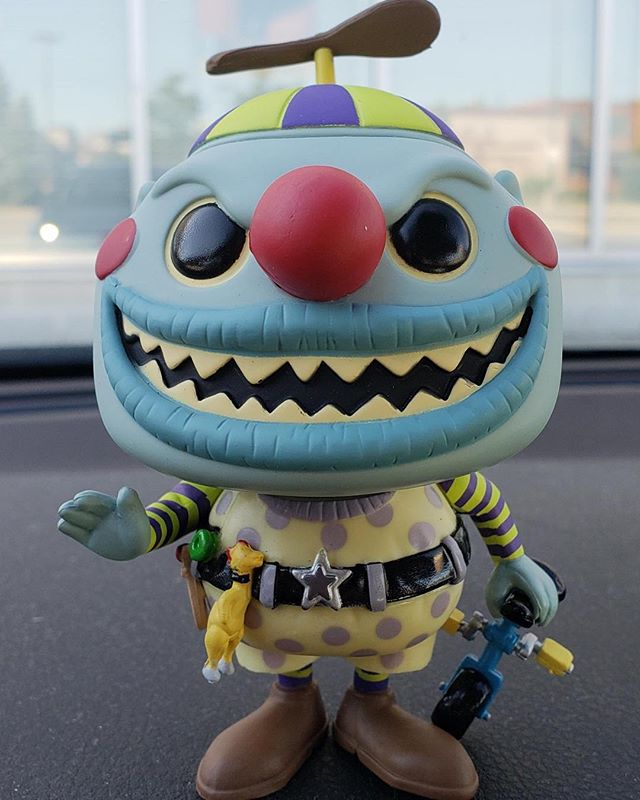Nightmare Before Christmas Clown With A Tear Away Face.Funko Pop News On Twitter Out Of Box Peek At Tear Away