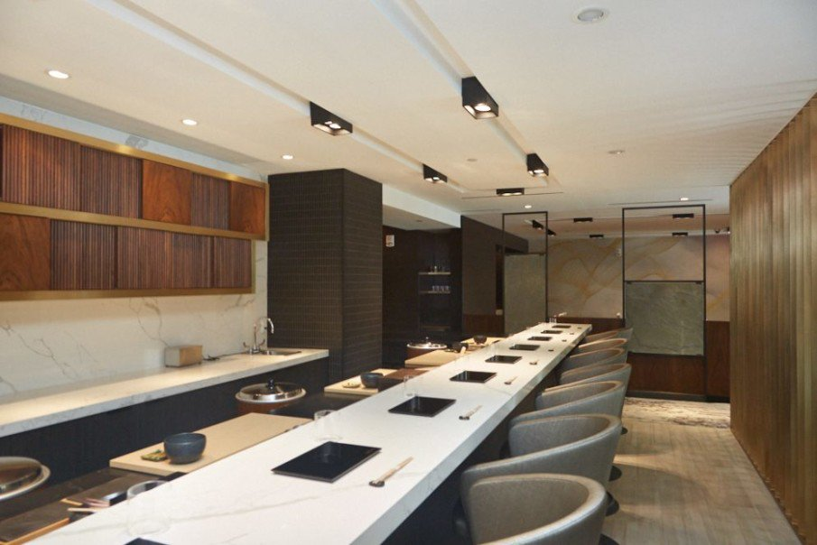 Our Kicca barstools are the perfect addition to this slick, modern sushi restaurant 🍣 https://t.co/hAqj6DRnUX  #restaurantgoals #metalmobil #interiors