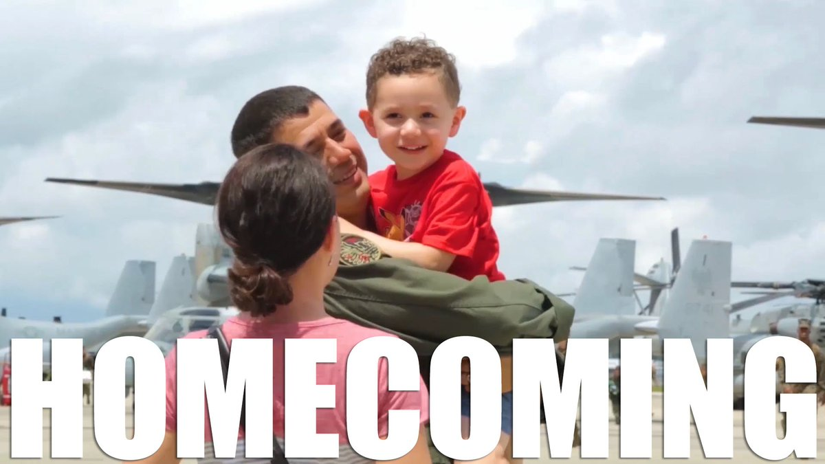 There's no greater feeling than coming home from deployment.