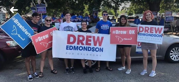 Join @DrewForOklahoma for volunteer events on Saturday, August 11 &amp; 18, at his HQ at 4901 Richmond Square in OKC!  #TakeBackOklahoma<br>http://pic.twitter.com/3cXoX8RbuE
