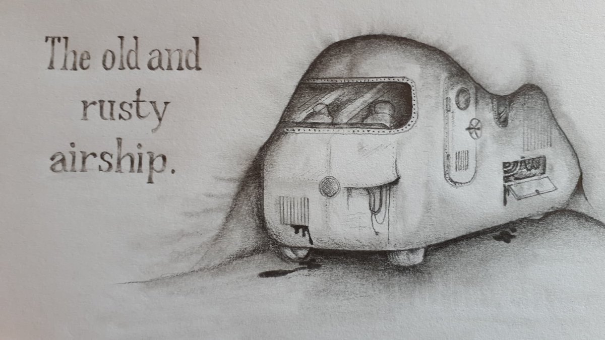 Here&#39;s another concept sketch i did today with a link to an excerpt:  https:// m.facebook.com/story.php?stor y_fbid=1089236891239523&amp;id=243809889115565 &nbsp; …   #Steampunk #airship #amwriting #amdrawing #conceptart #thestrangledhubris @AirshipEmbassy @FabulousWeird @Steampunk_T @MontagPress <br>http://pic.twitter.com/CwemGTH7ov