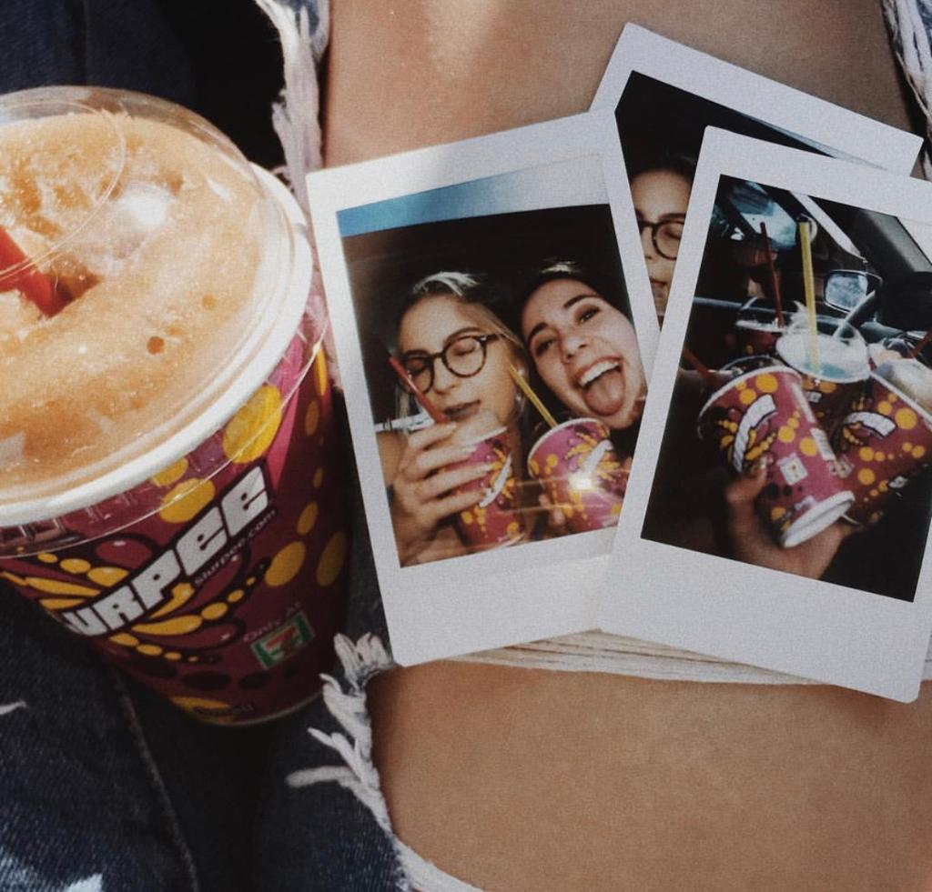 Summer is for friends, memories and Slurpees. 📸: @rachladage