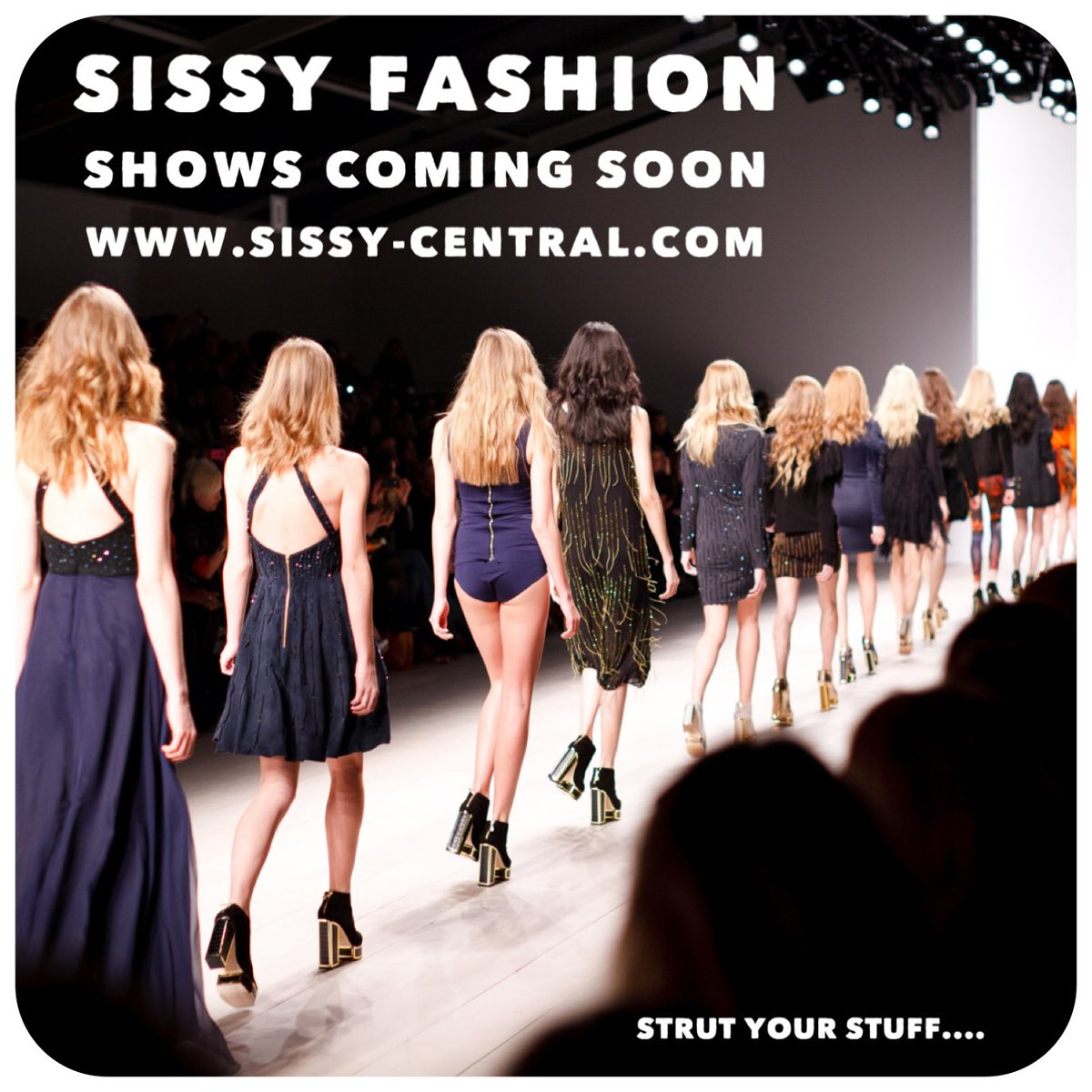 New coming soon real live fashion shows to take part in/watch #femdom #sissy #sissification #womenrule @rt_goddess @Sissy_School @sissify @SissyTrainers @ExposeSissy @SissyRetreat @SissySchoolX @faggot_sissy @sissyhypnosis @RTslave93 @rtdumb @RTsissyloser @DommeDaily @promoslave <br>http://pic.twitter.com/UKNdHIOvgV