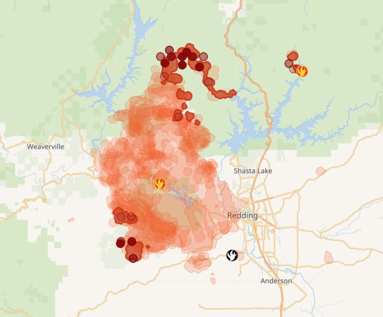 Emma O Neill On Twitter Carrfire Update Containment Reached 51