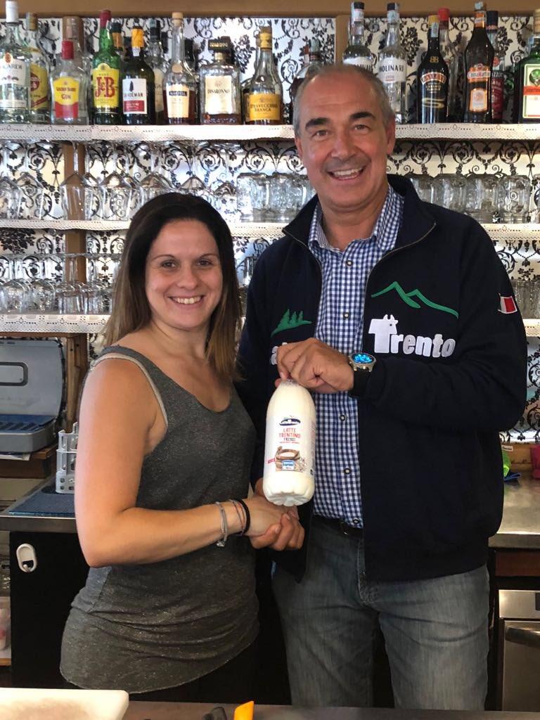 Anche il Bar Mezzaluna di Predazzo sceglie la #qualità dei prodotti #LatteTrento. Grazie!#lattefresco #mqt #genuino  - Ukustom