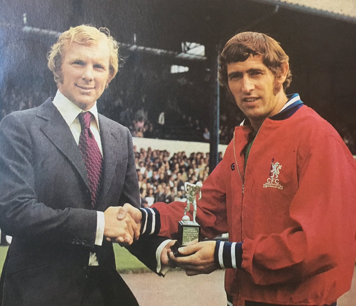 """The League Magazine on Twitter: """"Bobby Moore presents Peter ..."""