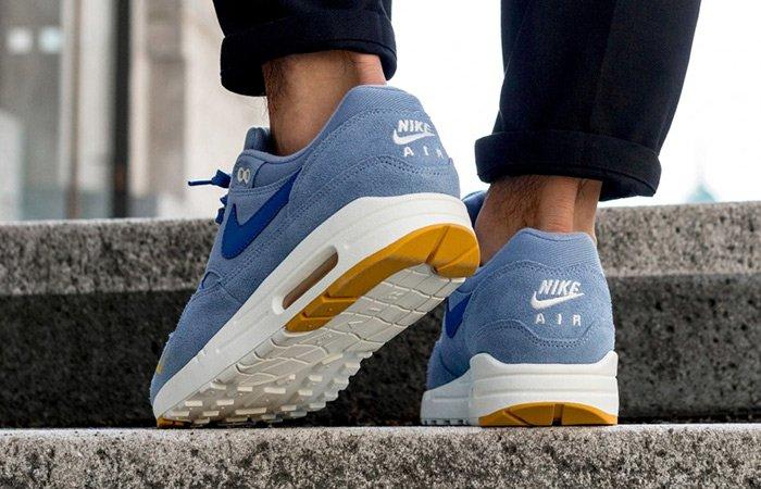 Nike Air Max 1 Premium Mini Swoosh Blue