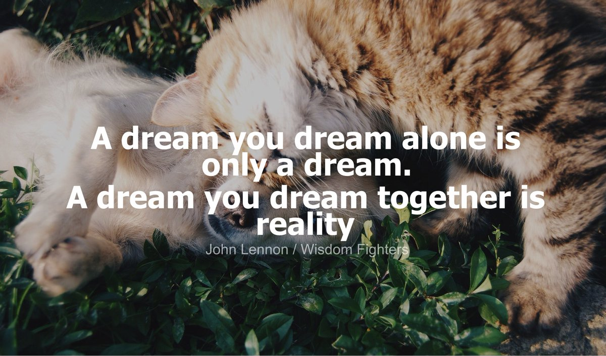 Illuminatinglife On Twitter A Dream You Dream Alone Is Only A