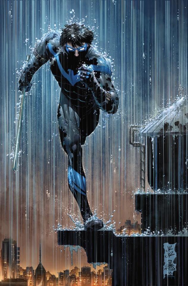 My 2 current fav covers! #Nightwing &amp; #Batman  #cominstraightatyou thru #sleet, #rain &amp; #snow  w #JohnRomtaJr, @TonyDanielx2 &amp; @tomeu_morey  #DCComics @DCComics<br>http://pic.twitter.com/IycdHzIAMr