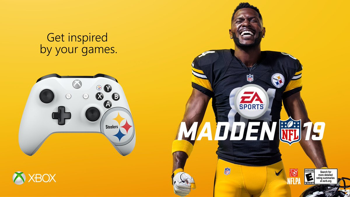 Touchdown! Get inspired by your games. #Xboxdesignlab #Madden19 https://t.co/cOlmegXkoE