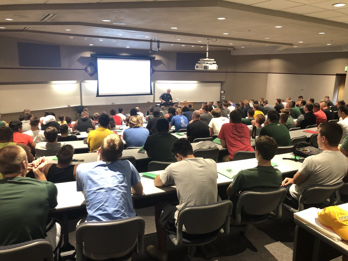 First team meeting of the year ✅