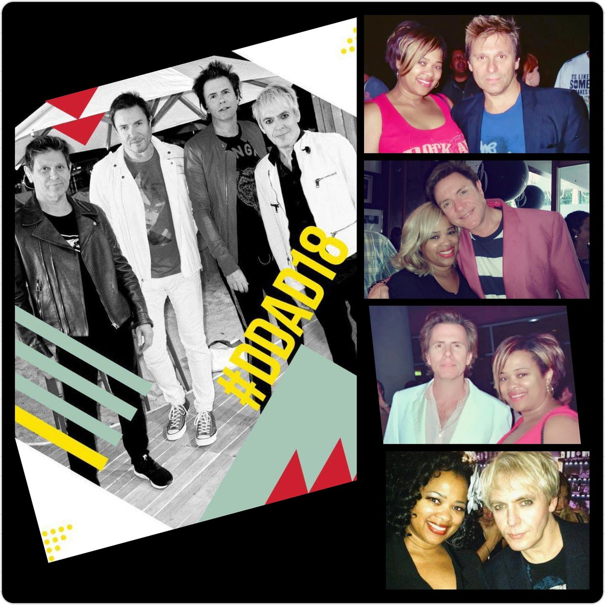 Happy Duran Duran Appreciation Day!!! thank you @duranduran for making my life brighter and for being so nice to me throughout the years!! @SimonJCLeBON @thisistherealJT #nickrhodes #rogertaylor #DDAD18 <br>http://pic.twitter.com/TPxvROEILU