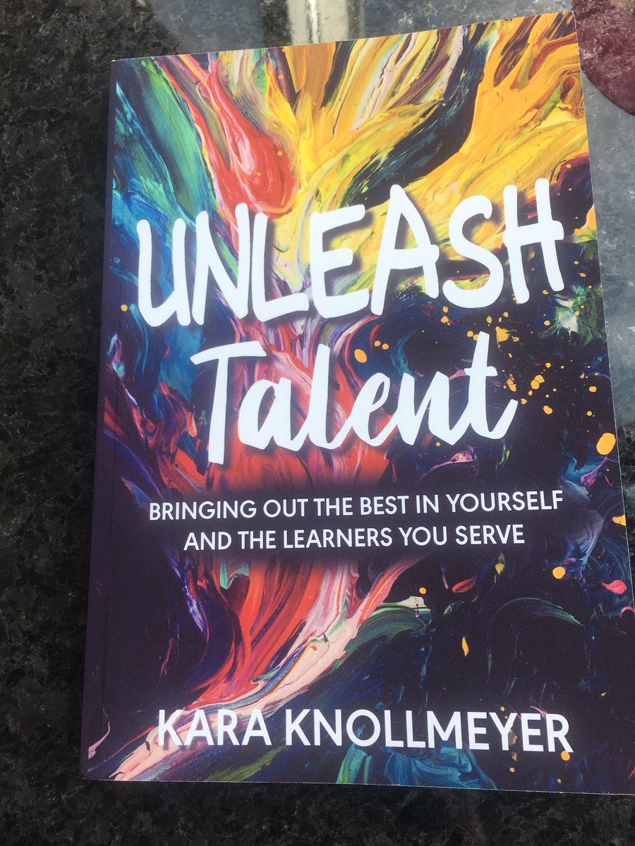 Excited to receive this book in the mail today! @karaknollmeyer