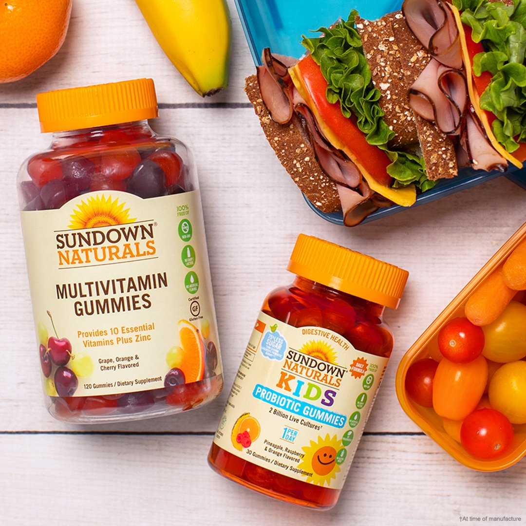Sundownnaturals Twitter Wellness Gummy Kids 30 Gummies The Will Be Heading Backtoschool Before You Know Itdiscover Some Easy Healthy Lunch Ideas To Nourish Their Minds And Help Them Learn