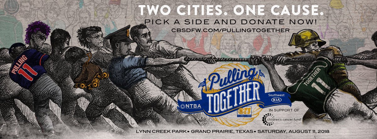 1 Rope 18 Teams 32,000 Pounds  Come see it happen tomorrow at Lynn Creek Park, rain or shine!  #FactFriday #SeeYouTomorrow  #PullingTogether #TwoCitiesOneCause #LetsCureKidsCancer<br>http://pic.twitter.com/olTxIrPa3h