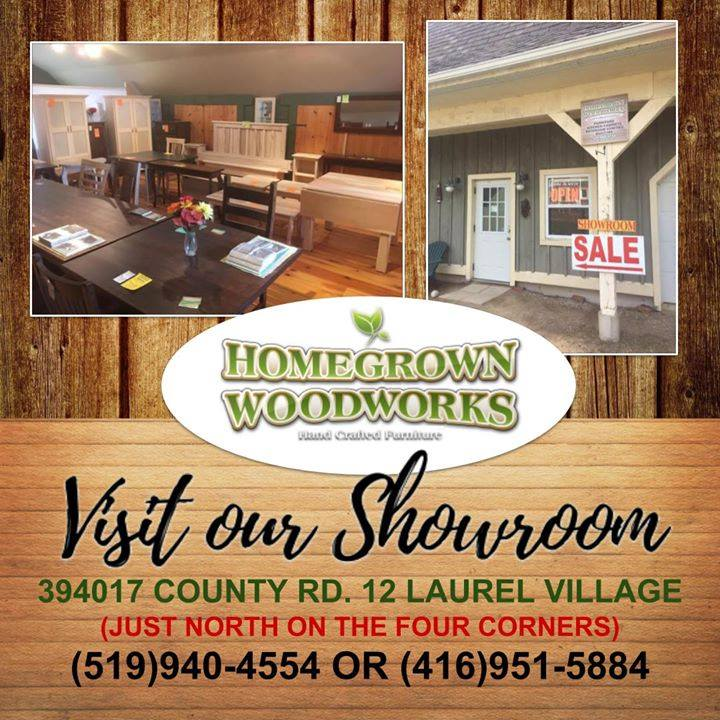 Visit our locally owned family run business. Our Showroom is busting with hand crafted, custom made furniture. We can't wait to see you! #Homegrown #Woodworks #shoplocal #custom #handmade #SolidWood #furniture #CabinetMaker #Laurel #Orangeville #Caledon  http://www. homegrownwoodworks.com / &nbsp;  <br>http://pic.twitter.com/xggUcjw6v1