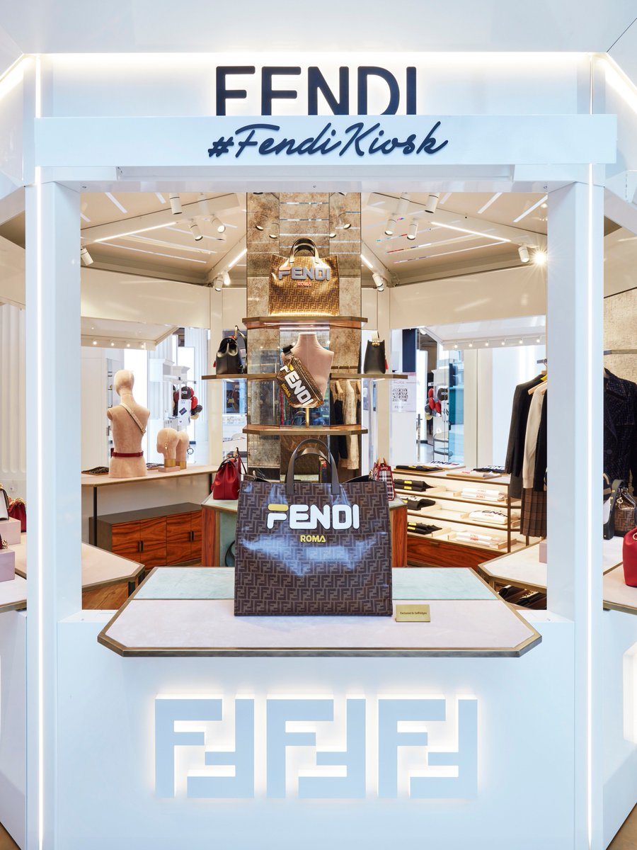 9084ae0e2b55 ... popping up at  Selfridges the Corner Shop until 2 September. Be the  first to discover an exclusive selection of pre-launched  FendiFW18 pieces.