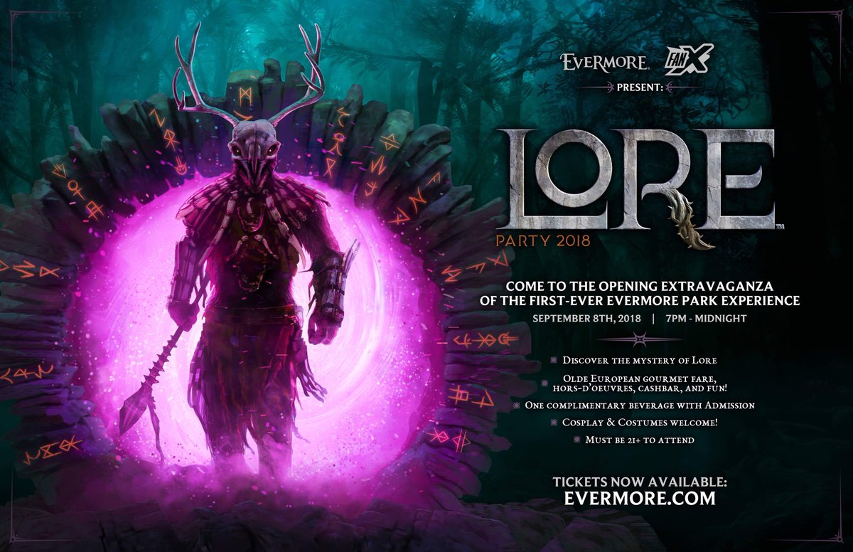 TICKETS ARE ON SALE! evermore.com/tickets/