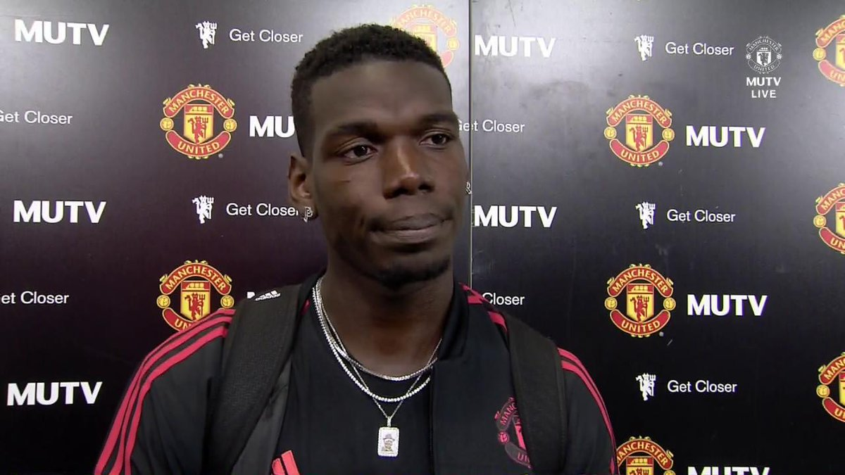 If you liked @PaulPogba's display tonight, you'll love this from his post-match interview. Sound on! 🔊 #MUFC