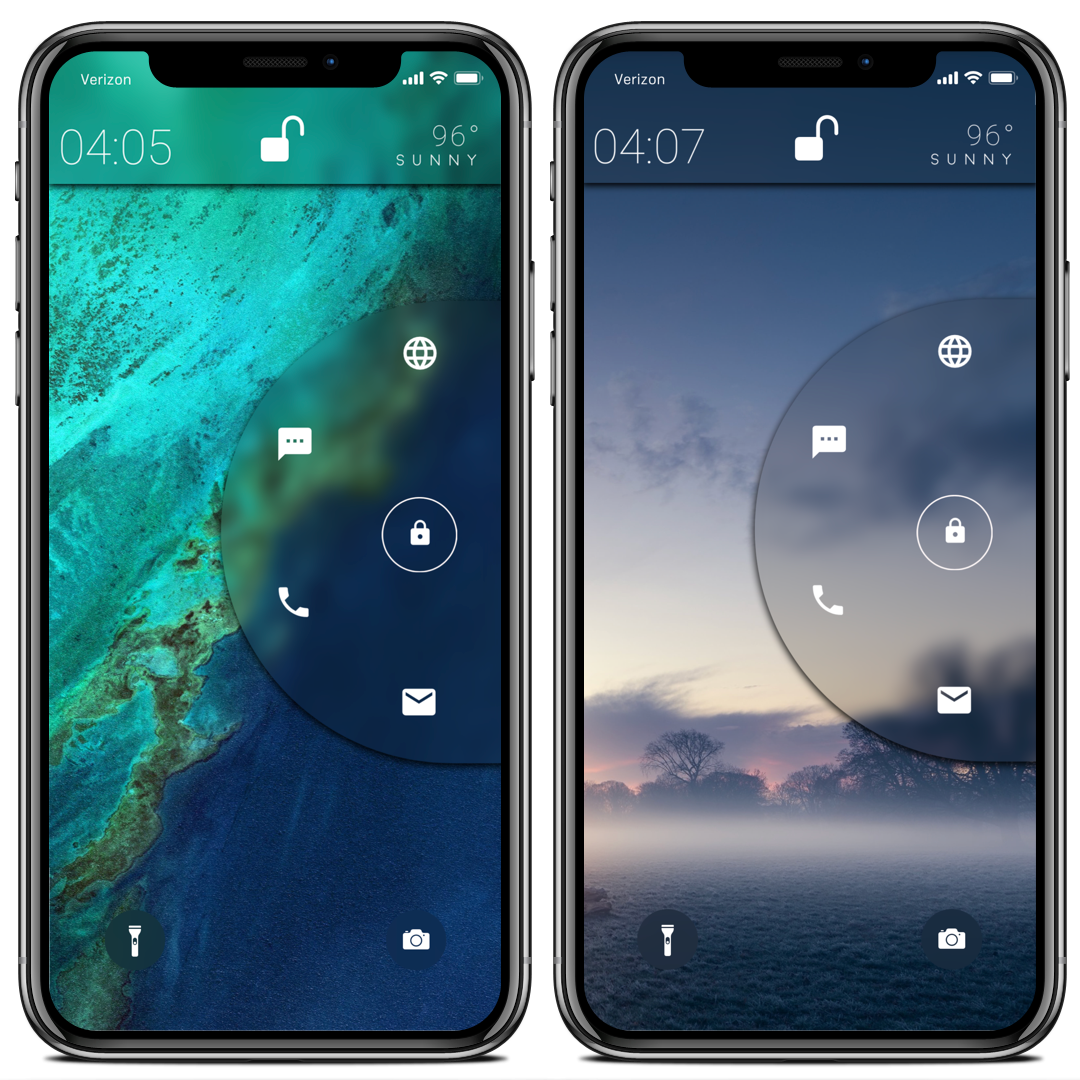 """For anyone interested, my little project is called """"ConceptLS iOS11 Test"""" on LockPlus by @JunesIphone  I've got more to do on it but if u want it now just search for that <br>http://pic.twitter.com/9C3vX8P85z"""