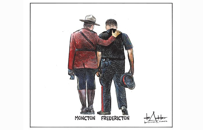 EDITORIAL: We all stand with Fredericton  https:// bddy.me/2nvAHI9  &nbsp;  <br>http://pic.twitter.com/SUPEKUWXFh