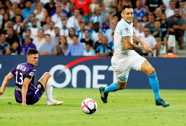 Marsella goleó a Toulouse en el inicio de la edición 81 de la Ligue 1 Photo