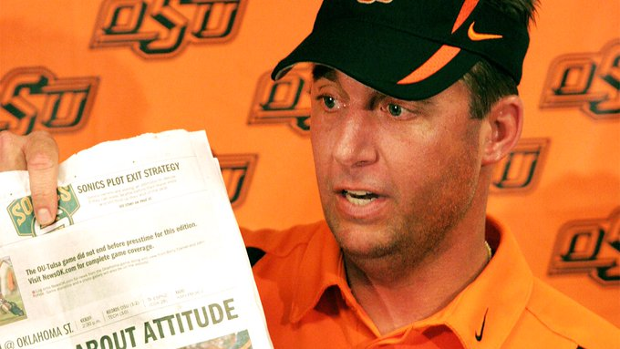 Happy 51st Birthday Mike Gundy. It seems like only yesterday you were 40