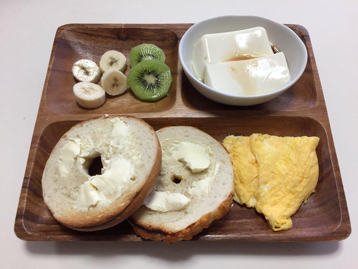 Breakfast was AWESOME!  #japan #japanesefood--tofu #breakfast! #bagels https://t.co/FSdkPSksp8