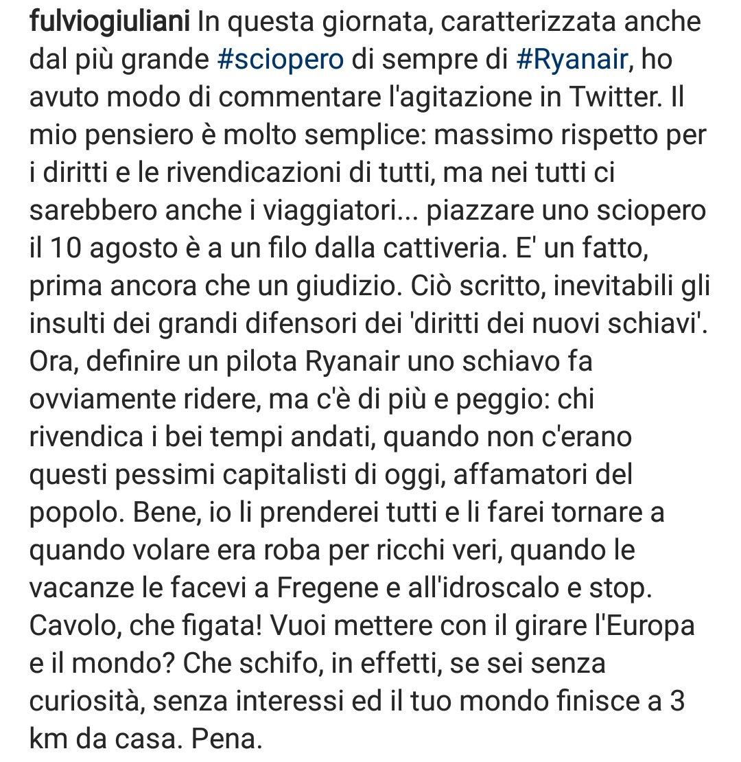 Il riassunto perfetto sulla follia Ryanair di @fulviogiuliani .#sciopero #Ryanair  - Ukustom