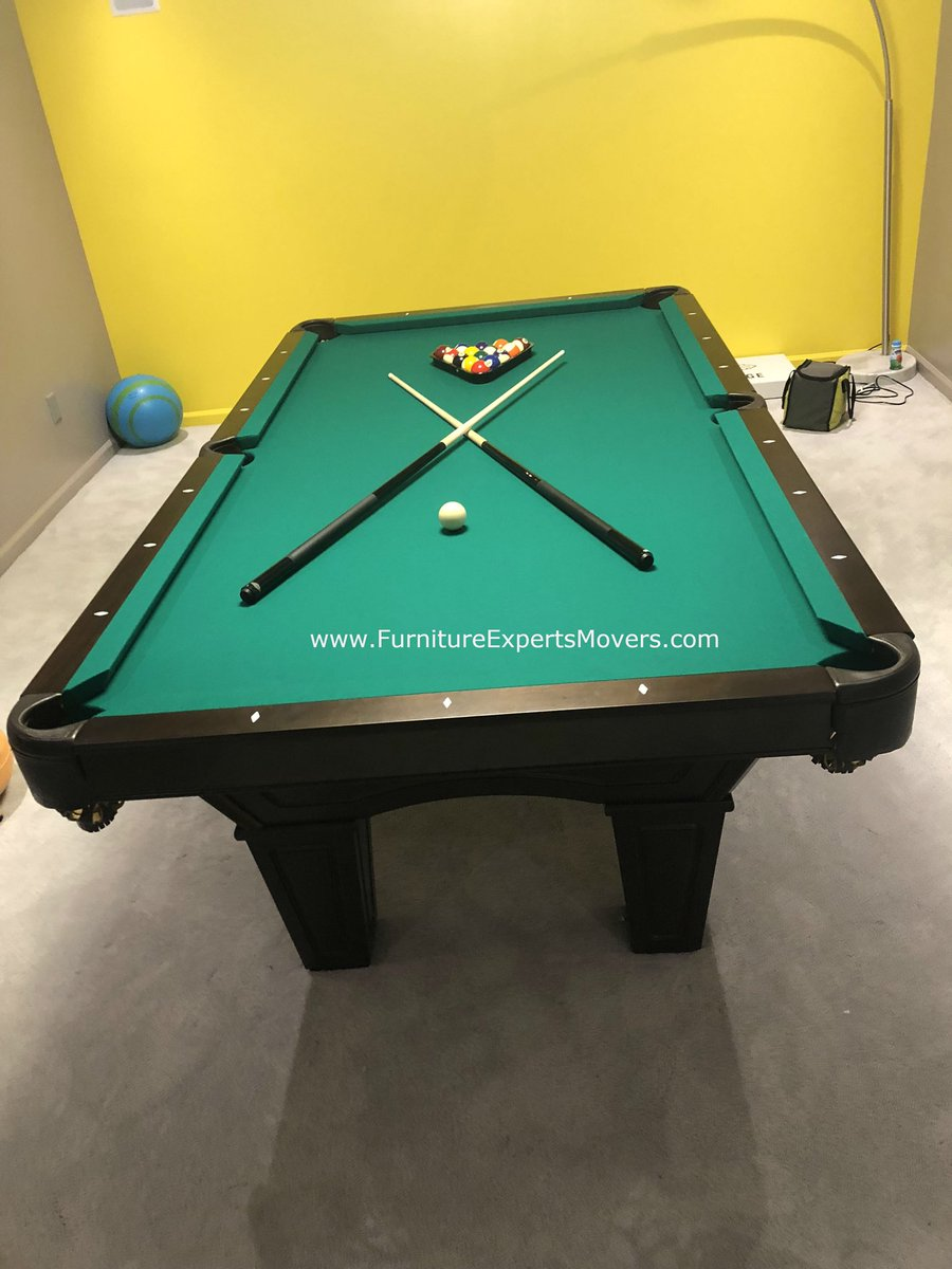 POOL TABLE MOVERS POOLTABLEMOVER Twitter - Brunswick pool table disassembly