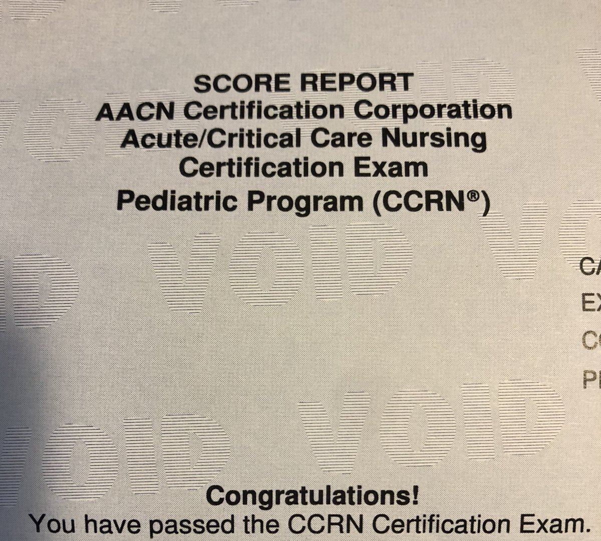 Aacn Critical Care On Twitter Congratulations