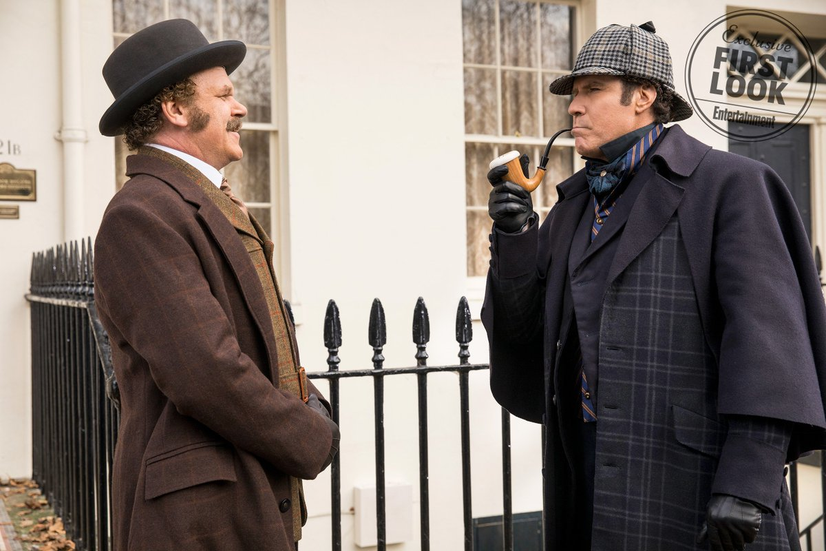 Will Ferrell and John C. Reilly are Holmes and Watson in first image from the upcoming comedy https://t.co/uGzPW85vfL