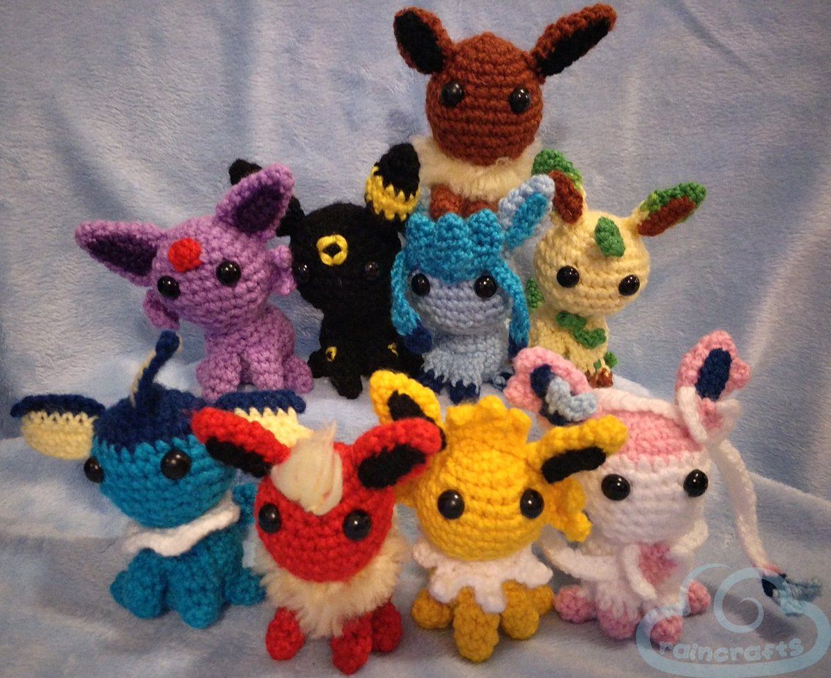 Ravelry: Pokemon: Umbreon pattern by i crochet things | 979x1200