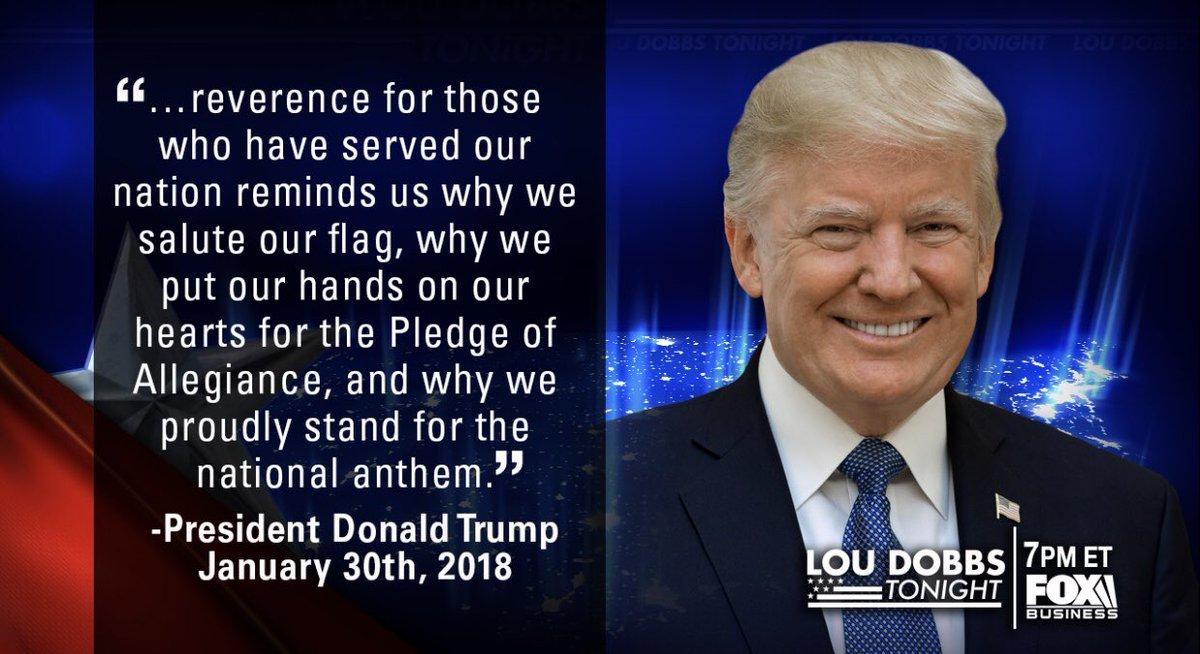 Tonight's #QuoteOfTheDay from President @realdonaldtrump. #MAGA #TrumpTrain #DOBBS