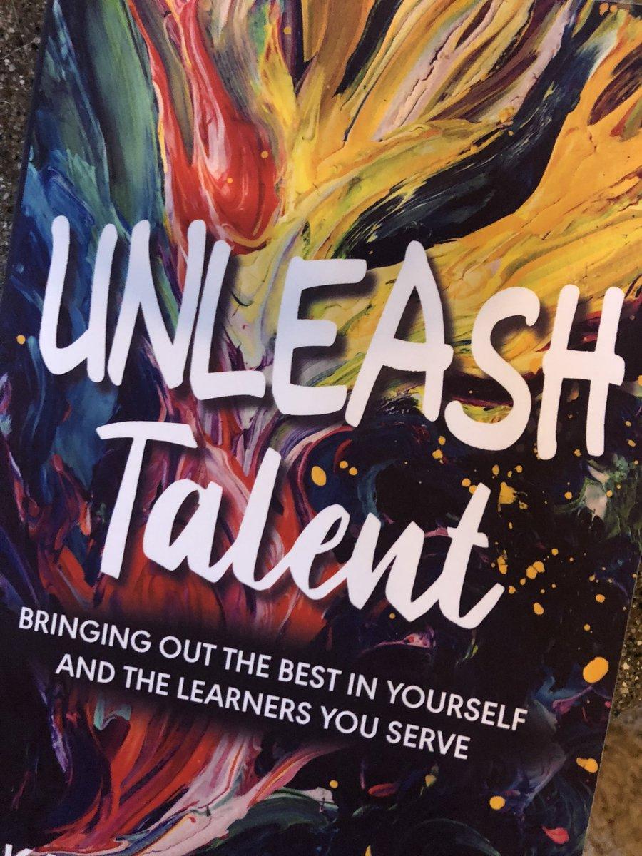 Thank you @karaknollmeyer - I can't wait to read it! 😍 #UnleashTalent