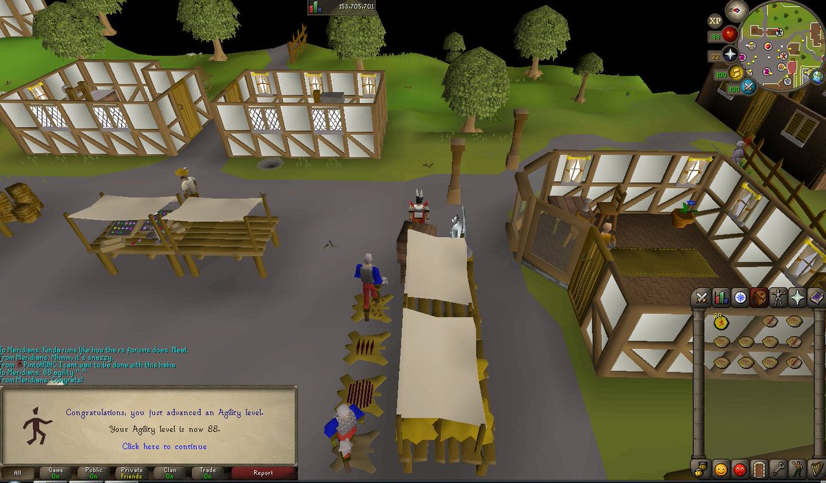 Slowly Losing My Sanity On The 99 Agility Grind