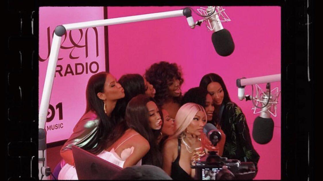 Normani assieme alla regina del rap, Nicki Minaj, ed altre star alla #QueenRadio!   - Ukustom