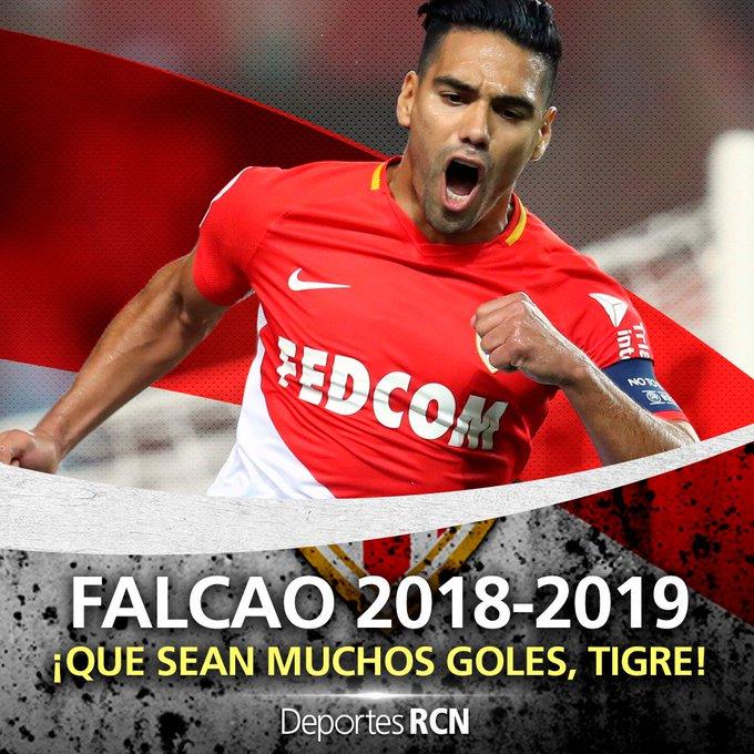 Una nueva ilusión, una nueva temporada, un nuevo reto. ¡Este sábado vuelve Falcao! ¡Este sábado vuelve El Tigre! 🐯🇨🇴 Photo