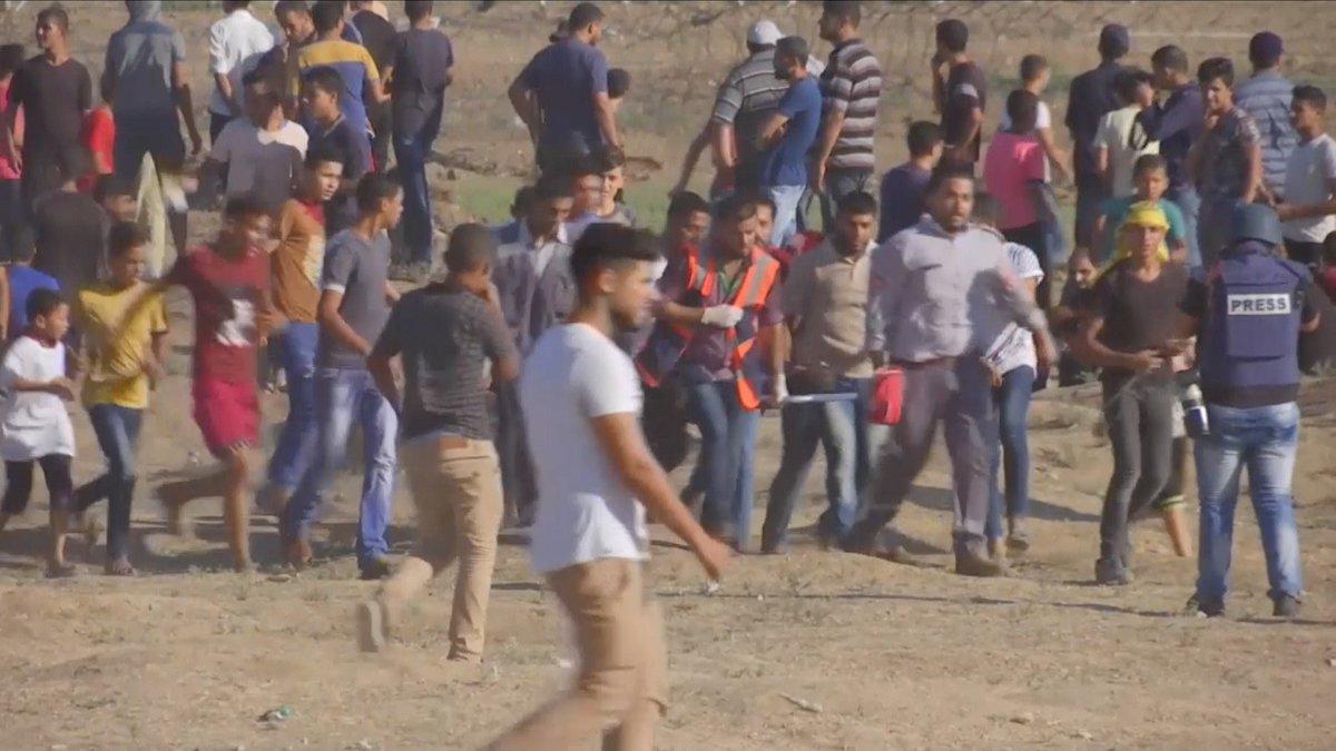 CGTN's photo on Gaza