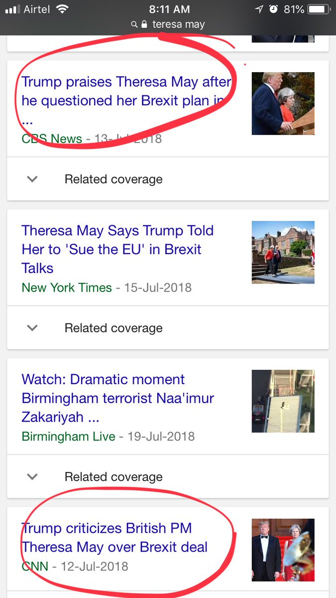 Tried reading news. forgot that it's bad idea. #mybad #TheresaMay #TrumpUKVisit <br>http://pic.twitter.com/9M4bkvxe59