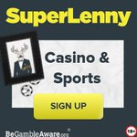 Image for the Tweet beginning: Hang With Super Lenny Casino