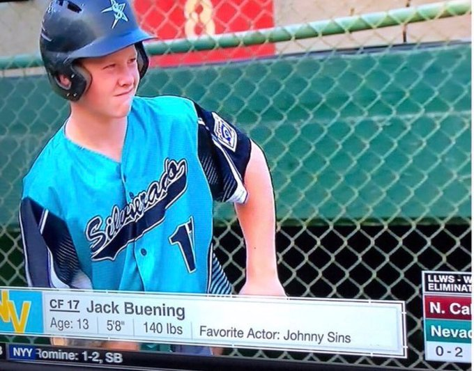 Looks like @JohnnySins got a fan right here! 😂 This kid is savage https://t.co/qAn5MlXNyg