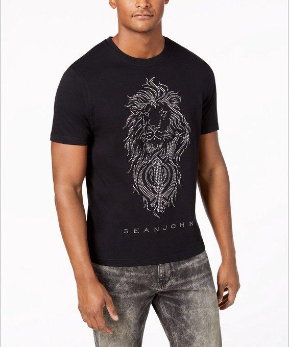 5f124b5d2 New @SeanJohn Lion Khanda T-Shirt @iamdiddy via @sukhisarai 👳🏽 ♂ 🦁  #Singh #Sikh https://t.co/wD1A8OO16S