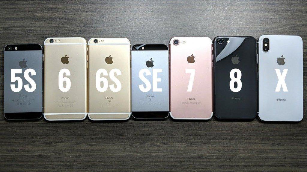 Vergleich iphone 6s und 7 plus