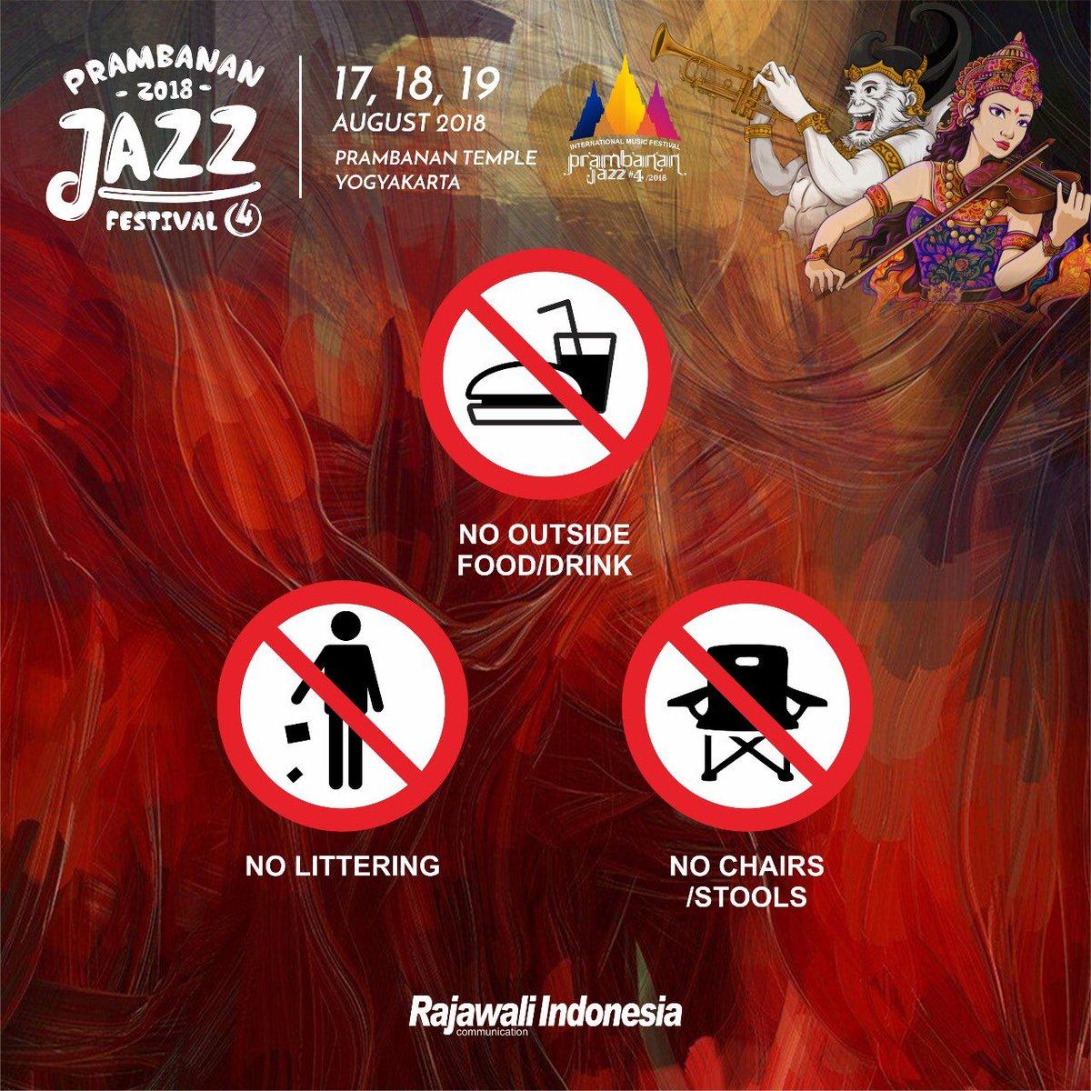 Prambanan Jazz 6 2020 Twitterren Ada Beberapa Peraturan Dalam